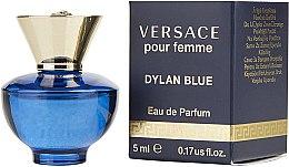 Parfumuri și produse cosmetice Versace Pour Femme Dylan Blue - Apă de parfum (mini)