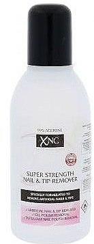 Lichid pentru dizolvarea acrilului și îndepărtarea unghiilor artificiale - Xpel Marketing Ltd XNC Nail Care Super Strength Nail & Tip Remover — Imagine N1