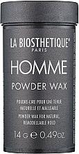 Parfumuri și produse cosmetice Pudră-ceară pentru păr - La Biosthetique Homme Powder Wax