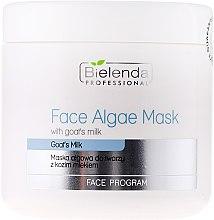 Parfumuri și produse cosmetice Mască de față alginat cu lapte de capră - Bielenda Professional Algae Face Mask