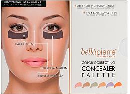Parfumuri și produse cosmetice Paletă pentru machiaj - Bellapierre Cosmetics Color Correcting Concealer Palette