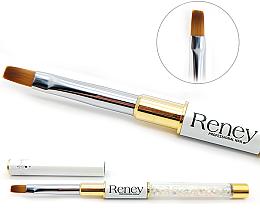 Духи, Парфюмерия, косметика Кисть для маникюра плоская - Reney Cosmetics Pro Flat AN04