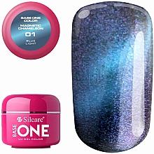 Parfumuri și produse cosmetice Gel de unghii - Silcare Base One Magnetic Chameleon UV Gel Color