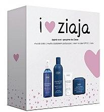"""Parfumuri și produse cosmetice Set """"Fructe de pădure"""" - Ziaja (mousse/200ml + soap/300ml + cr/50ml + ton/200ml)"""
