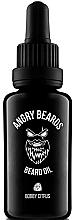 Parfumuri și produse cosmetice Ulei pentru barbă - Angry Beards Bobby Citrus Beard Oil