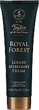 Parfumuri și produse cosmetice Taylor of Old Bond Street Royal Forest Aftershave Cream - Cremă după ras