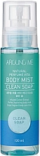 Parfumuri și produse cosmetice Mist pentru corp - Welcos Around Me Natural Perfume Vita Body Mist Clean Soap