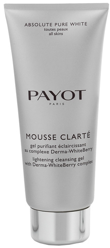 "Gel pentru față ""Derma-WhiteBerry"" - Payot Mousse Clarte Lightening Cleansing Gel"