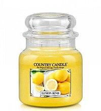 Parfumuri și produse cosmetice Lumânare aromată (borcan) - Country Candle Lemond Rind