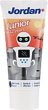 Parfumuri și produse cosmetice Pastă de dinți 6-12 ani, robot - Jordan Junior Toothpaste