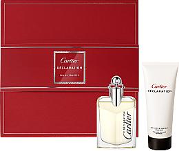 Parfumuri și produse cosmetice Cartier Declaration - Набор (edt/50ml + s/g/100ml)