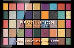 Parfumuri și produse cosmetice Farduri de ochi, 45 nuanțe - Makeup Revolution Maxi Reloaded Palette