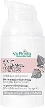 Parfumuri și produse cosmetice Cremă de ochi - Vis Plantis Atopy Tolerance Emollient Eye Cream