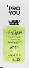 Parfumuri și produse cosmetice Activator Curl - Revlon Professional Pro You The Twister Scrunch Curl Activator Gel (mostră)