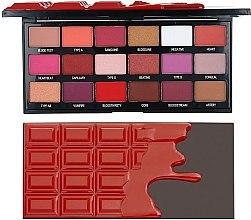 Parfumuri și produse cosmetice Paletă farduri de ochi - I Heart Revolution Eyeshadow Chocolate Blood Palette