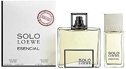 Parfumuri și produse cosmetice Loewe Solo Esencial - Set (edt/100ml+ edt/30ml)