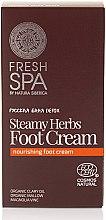 Parfumuri și produse cosmetice Cremă pentru picioare - Natura Siberica Fresh Spa Russkaja Bania Detox Steamy Herbs Foot Cream