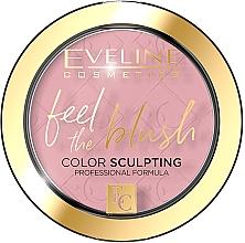 Parfumuri și produse cosmetice Fard de obraz - Eveline Cosmetics Feel The Blush
