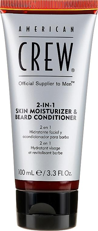 Cremă și balsam 2 în 1 pentru barbă - American Crew Official Supplier to Men 2In1 Skin Moisturizer & Beard Conditioner