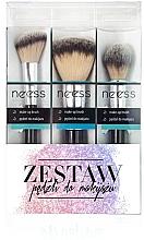 Parfumuri și produse cosmetice Set pensule pentru machiaj №1 - Neess
