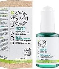 Parfumuri și produse cosmetice Ulei pentru scalp - Biolage R.A.W. Scalp Care Rebalance Scalp Oil