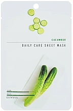 Parfumuri și produse cosmetice Mască de țesut cu extract de castravete - Eunyul Daily Care Mask Sheet Cucumber