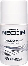 Parfumuri și produse cosmetice Antiperspirant roll-on - Grazette Neccin Deodorant Sensitive