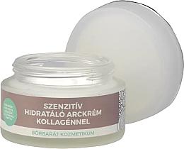 Parfumuri și produse cosmetice Cremă cu colagen pentru față - Yamuna Sensitive Hydrating Face Cream With Collagen