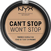 Parfumuri și produse cosmetice Pudră de față - NYX Professional Makeup Can't Stop Won't Stop Powder Foundation