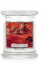 Parfumuri și produse cosmetice Ароматическая свеча в сткане - Kringle Candle Crimson Park