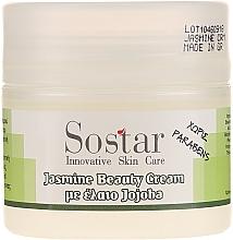Cremă anti-îmbătrânire cu iasomiei pentru față - Sostar Jasmine Anti-Aging Beauty Cream — Imagine N2