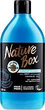 Parfumuri și produse cosmetice Balsam cu ulei de cocos pentru păr - Nature Box Coconut Oil Conditioner