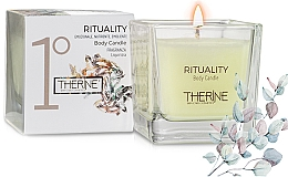 Parfumuri și produse cosmetice Lumânare pentru masaj - Therine Rituality Body Candle