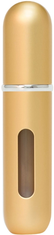 Set atomizoare pentru parfumerie - Travalo Classic HD Gold Set (atomiser/3x5ml + case) — Imagine N3