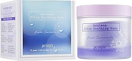 Parfumuri și produse cosmetice Patch-uri ultra calmante pentru curățare și tonifiere - Petitfee&Koelf Azulene Ultra Soothing Pads