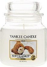 Parfumuri și produse cosmetice Lumânare în borcan din sticlă - Yankee Candle Soft Blanket