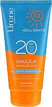 Parfumuri și produse cosmetice Emulsie hidratantă pentru bronz, impermeabilă - Lirene Sun Care Emulsion SPF20