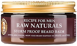 Parfumuri și produse cosmetice Balsam de barbă - Recipe For Men RAW Naturals Storm Proof Beard Balm
