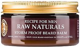 Parfumuri și produse cosmetice Balsam pentru barbă - Recipe For Men RAW Naturals Storm Proof Beard Balm