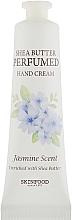 Parfumuri și produse cosmetice Cremă de mâini - Skinfood Shea Butter Perfumed Hand Cream Jasmine Scent
