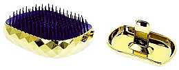 Parfumuri și produse cosmetice Perie de păr, aurie - Twish Spiky 4 Hair Brush Diamond Gold