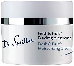 Parfumuri și produse cosmetice Cremă hidratantă - Dr. Spiller Fresh & Fruit Moisturizing Cream