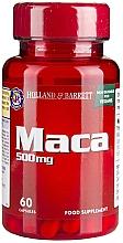 "Parfumuri și produse cosmetice Supliment alimentar ""Mac"" - Holland & Barrett Maca 500mg"