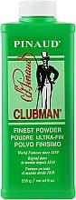 Parfumuri și produse cosmetice Talc pentru corp, super ușor alb - Clubman Pinaud Finest Talc Ultra-Fin