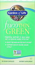 Parfumuri și produse cosmetice Supliment pentru arderea grăsimilor Fuco Thin Green, capsule - Garden of Life