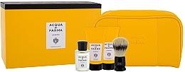 Parfumuri și produse cosmetice Acqua di Parma Colonia - Set (edc/20ml + sh/cr/40ml + balm/40ml + brush + bag)