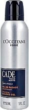 Parfumuri și produse cosmetice Освежающий гель для бритья - L'Occitane Homme Cade Refreshing Shaving Gel