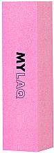 Parfumuri și produse cosmetice Buffer pentru unghii, 240 grit, roz - MylaQ