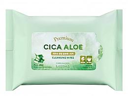 Parfumuri și produse cosmetice Șervețele de curățare - Premium Cica Aloe Cleansing Wipes
