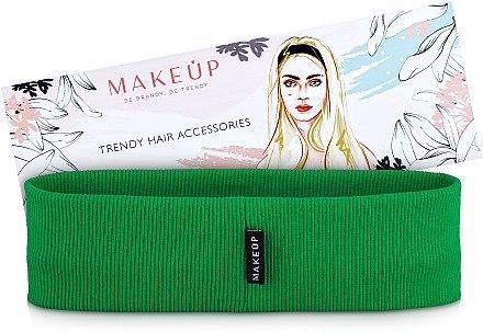 """Bandă elastică pentru păr """"Be Beauty"""", verde - MakeUp"""